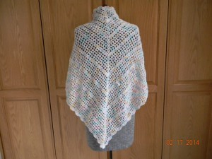 Country Shawl - back