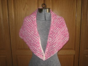 It's Just a Triangle Shawl 2